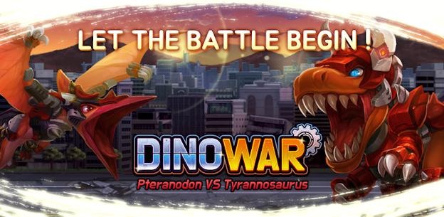 Dino War Pteranodon VS Tyranno Hack Game Android & iOS 1