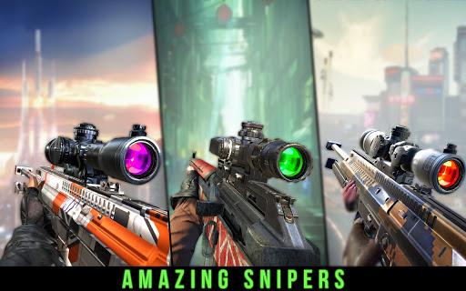 Sniper Ace Modern Shooter : Sniper Shooting Games APK MOD (Astuce) screenshots 3