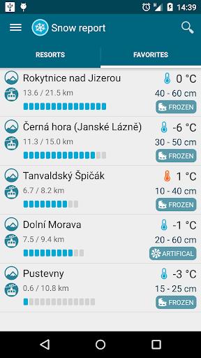Meteor (Weather) u00bb Snow report  Screenshots 3