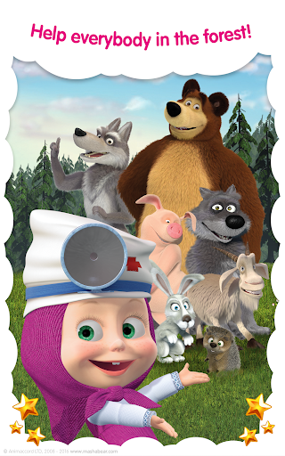 Masha and the Bear: Free Animal Games for Kids 4.0.5 screenshots 12