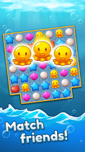 Ocean Friends: Match 3 Puzzle MOD APK (Unlimited Boosters) 7