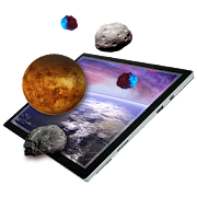 Space Background Live Wallpaper 3D