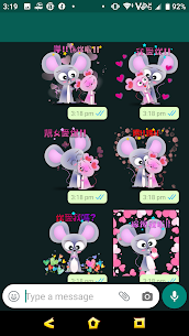 2020 Valentine's Day – Year of Mouse Sticker 1.6 Latest MOD APK 3