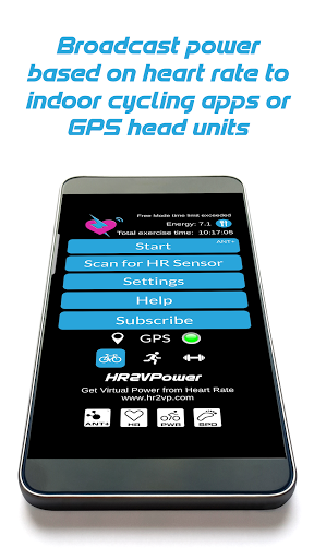 Heart Rate To Virtual Power screenshot 1