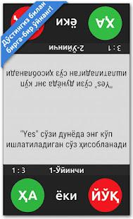 HA yoki YO'Q 2.1 screenshots 4