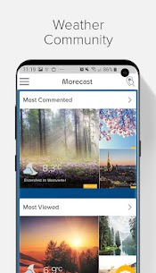 Weather Forecast, Radar & Widget – Morecast 5