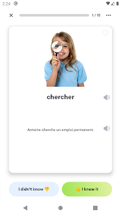 Learn French Vocabulary: Voc App French Flashcards