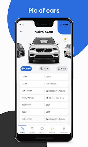 Car info - Car data, cars dataset & vehicles apktram screenshots 3