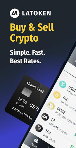 LATOKEN Wallet: Buy and sell Bitcoin and crypto  screenshots 1