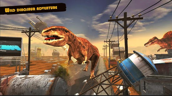 Dinosaur Games Simulator 2019 Screenshot
