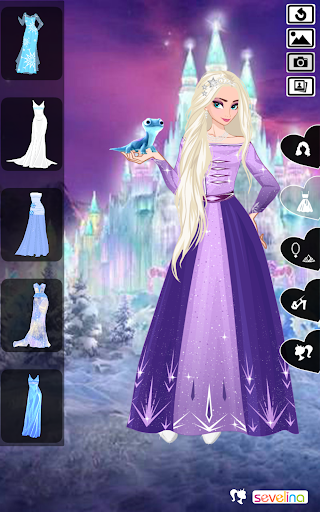 Icy or Fire dress up game screenshots 4