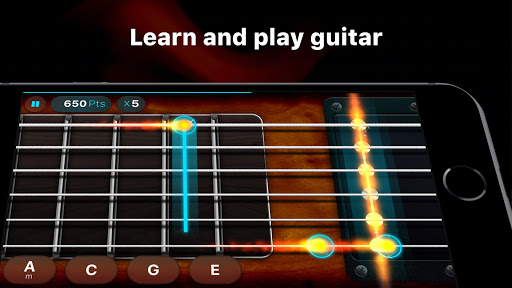 Guitar - play music games, pro tabs and chords! screenshots 2