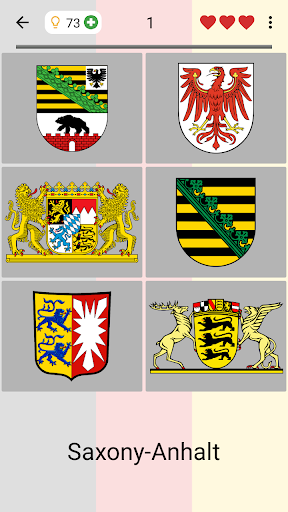 German States - Flags, Capitals and Map of Germany apkpoly screenshots 6