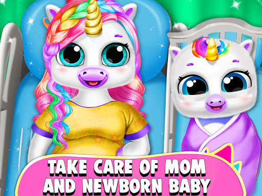 Pregnant Unicorn Mom And Baby Daycare 0.13 screenshots 17