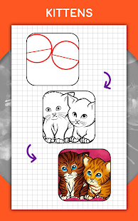 How to draw animals. Step by step drawing lessons 1.5.3 Screenshots 14