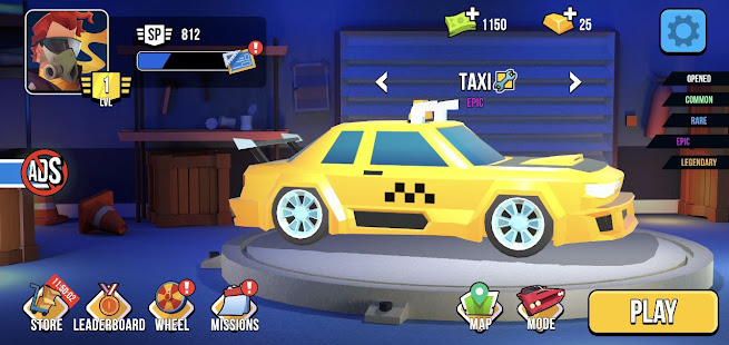 Image For Smash racing: drive from cops, make an epic crash! Versi 6.7.7 6