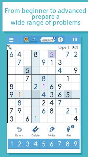 Sudokuu2010A logic puzzle game u2010 apkpoly screenshots 2