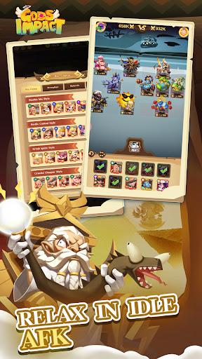 Gods Impact-Let's join an epic battle!  screenshots 8