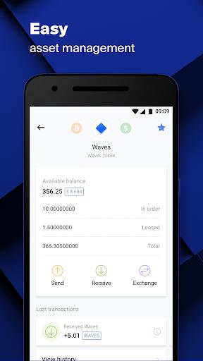 Waves.Exchange  Screenshots 3