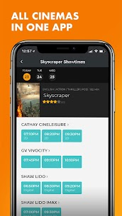Popcorn  Movie Showtimes, Tickets, Trailers  News Apk Download NEW 2021 3
