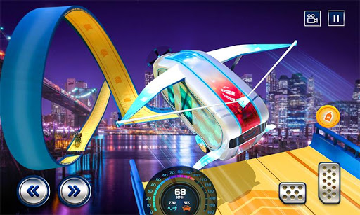 Extreme Stunts Car Chase Ramp GT Racing Car Games screenshots 5
