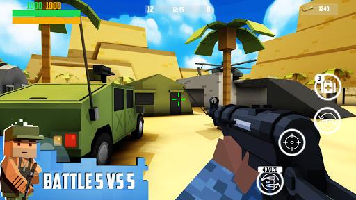Block Gun: FPS PvP War - Online Gun Shooting Games modiapk screenshots 1