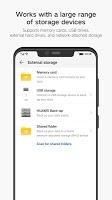 screenshot of Huawei Backup