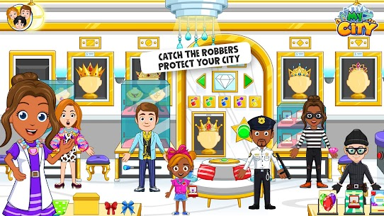 My City: Cops and Robbers – Police Game for Kids👮 Mod 1.0.4 Apk (Paid, Unlocked) 2