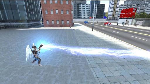 Crime Angel Superhero - Vegas Air Strike Apkfinish screenshots 5