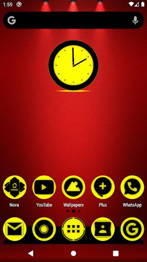 oreo yellow icon pack p2 ✨free✨ screenshot 1