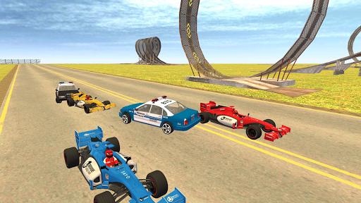 Formula Car Racing u2013 Police Chase Game 1.20 screenshots 7