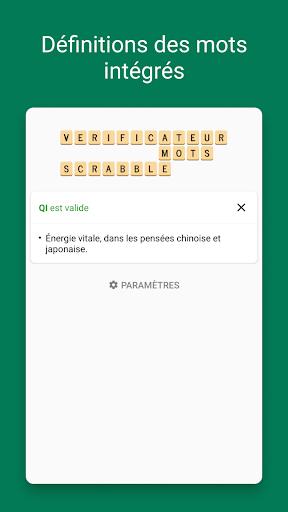 Verificateur Mots SCRABBLE  screenshots 2
