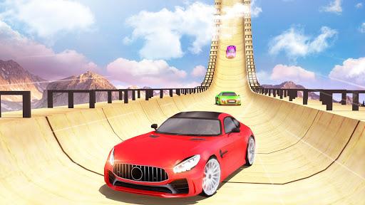 Mega Ramp Car Stunts Racing : Impossible Tracks 3D screenshots 9