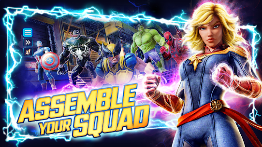 Download Marvel Strike Force Mod Apk [Unlimited Money, Power Cores] 2