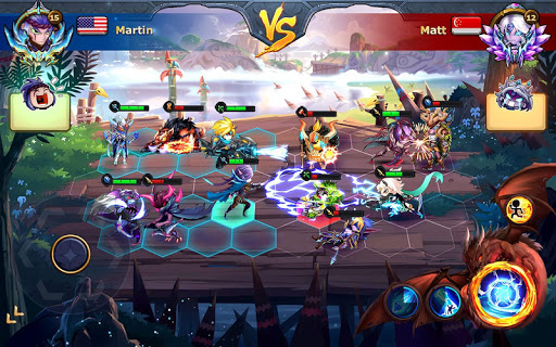 Runelords Arena: Tactical Hero Combat IDLE RPG screenshots 20