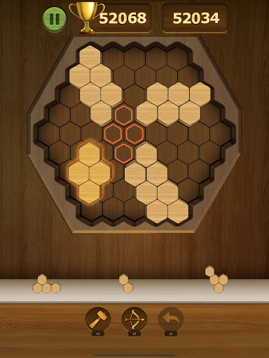 Wood Block Puzzle 2021 - Wooden 3D Cube Puzzle Gem goodtube screenshots 14