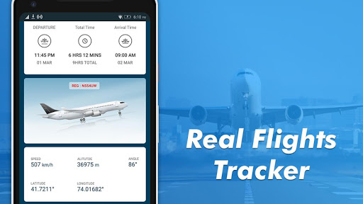 Flight Tracker-Plane Finder, Flight status & Radar 1.15 Screenshots 6