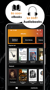 Free Books & Audiobooks Screenshot