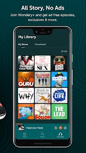 Wondery – Premium Podcast App (MOD APK, Premium) v1.10.0 3