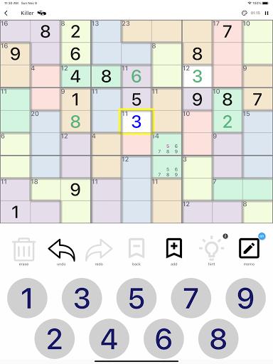 All Sudoku - 5 kinds of sudoku puzzle in one app screenshots 20