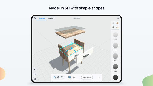Moblo - 3D furniture drawing and augmented reality  Screenshots 8