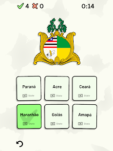 States of Brazil Quiz - Maps, Flags, Capitals