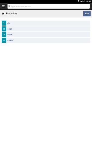 Cambridge English-Arabic Dictionary screenshot 16