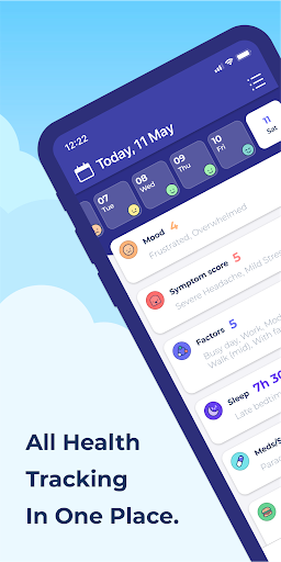 Bearable - Symptoms & Mood tracker modavailable screenshots 2