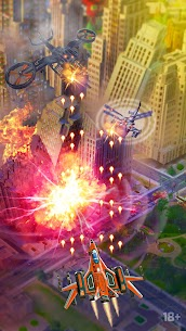 HAWK: Airplane Games. Shoot Em Up Mod Apk 35.1.25614 (Menu Mod) 7