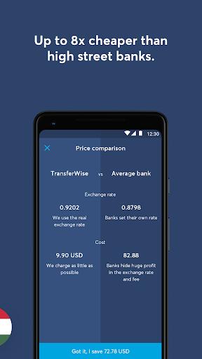 TransferWise Money Transfer 6.2.3 Screenshots 3
