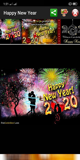 Happy New Year Greetings 2021  Screenshots 13