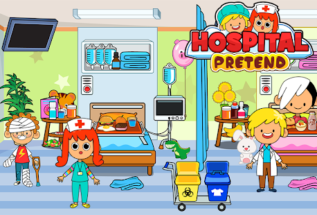 My Pretend Hospital - Kids Hospital Town Life 2.2 screenshots 1