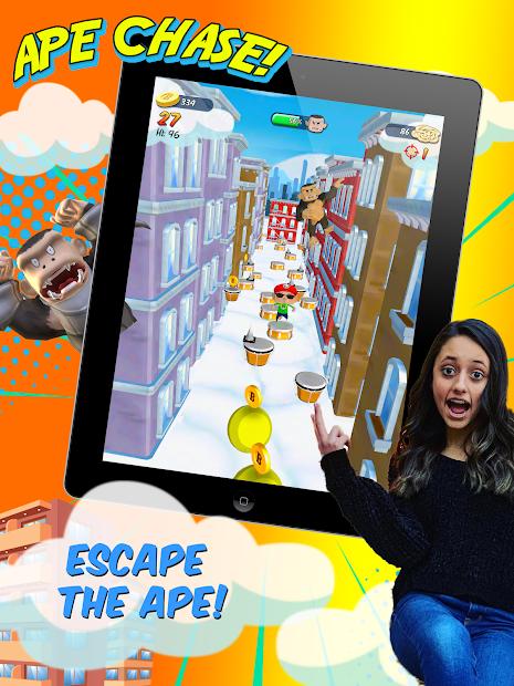 Screenshot 9 de FGTeeV Ape Chase! para android
