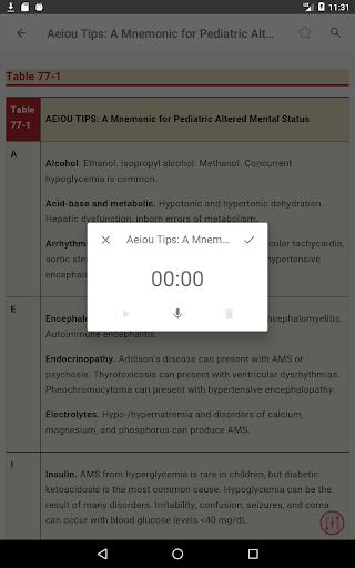 Tintinalli's Emergency Medicine Manual App  Screenshots 20